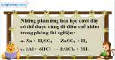 Câu 1 phần bài tập học theo SGK – Trang 123 Vở bài tập hoá 8