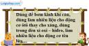 Câu 2 phần bài tập học theo SGK – Trang 114 Vở bài tập hoá 8
