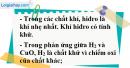 Câu 3 phần bài tập học theo SGK – Trang 114 Vở bài tập hoá 8