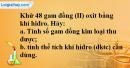 Câu 4 phần bài tập học theo SGK – Trang 114 Vở bài tập hoá 8