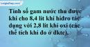Câu 6* phần bài tập học theo SGK – Trang 114 Vở bài tập hoá 8