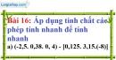Bài 16 trang 19 Vở bài tập toán 7 tập 1