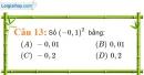 Phần câu hỏi bài 5 trang 20, 21 Vở bài tập toán 7 tập 1