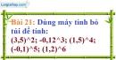 Bài 21 trang 21 Vở bài tập toán 7 tập 1