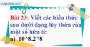 Bài 23 trang 23 Vở bài tập toán 7 tập 1