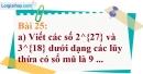 Bài 25 trang 25 Vở bài tập toán 7 tập 1