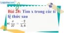Bài 28 trang 27 Vở bài tập toán 7 tập 1