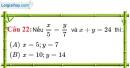 Phần câu hỏi bài 8 trang 30 Vở bài tập toán 7 tập 1