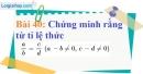 Bài 40 trang 34 Vở bài tập toán 7 tập 1