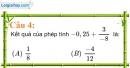 Phần câu hỏi bài 2 trang 9 Vở bài tập toán 7 tập 1