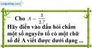 Bài 42 trang 36 Vở bài tập toán 7 tập 1