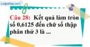 Phần câu hỏi bài 10 trang 38, 39 Vở bài tập toán 7 tập 1