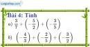 Bài 4 trang 9 Vở bài tập toán 7 tập 1