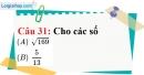 Phần câu hỏi bài 11 trang 41 Vở bài tập toán 7 tập 1