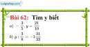 Bài 62 trang 47 Vở bài tập toán 7 tập 1
