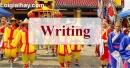 Writing - Trang 38 Unit 4 VBT Tiếng Anh 8 mới