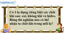 Câu 2 phần bài tập học theo SGK – Trang 127 Vở bài tập hoá 8