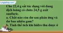 Câu 5 phần bài tập học theo SGK – Trang 123 Vở bài tập hoá 8