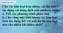 Câu 6* phần bài tập học theo SGK – Trang 129 Vở bài tập hoá 8