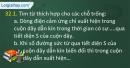 Câu 32.1, 32.2, 32.4 phần bài tập trong SBT – Trang 91 Vở bài tập Vật lí 9