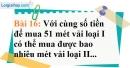 Bài 16 trang 63 Vở bài tập toán 7 tập 1