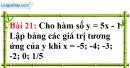 Bài 21 trang 66 Vở bài tập toán 7 tập 1