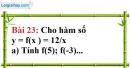 Bài 23 trang 67 Vở bài tập toán 7 tập 1
