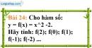 Bài 24 trang 67 Vở bài tập toán 7 tập 1