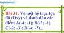 Bài 31 trang 71 Vở bài tập toán 7 tập 1