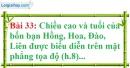 Bài 33 trang 72 Vở bài tập toán 7 tập 1