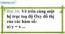 Bài 34 trang 73 Vở bài tập toán 7 tập 1
