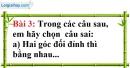 Bài 3 trang 86 Vở bài tập toán 7 tập 1
