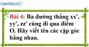 Bài 4 trang 86 Vở bài tập toán 7 tập 1