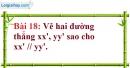 Bài 18 trang 95 Vở bài tập toán 7 tập 1