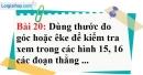 Bài 20 trang 96 Vở bài tập toán 7 tập 1