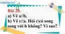Bài 28 trang 101 Vở bài tập toán 7 tập 1
