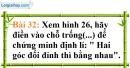 Bài 32 trang 103 Vở bài tập toán 7 tập 1