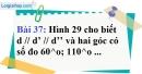 Bài 37 trang 106 Vở bài tập toán 7 tập 1