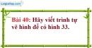 Bài 40 trang 108 Vở bài tập toán 7 tập 1