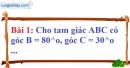 Bài 1 trang 111 Vở bài tập toán 7 tập 1