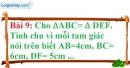 Bài 9 trang 115 Vở bài tập toán 7 tập 1