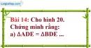 Bài 14 trang 118 Vở bài tập toán 7 tập 1