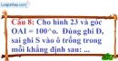 Phần câu hỏi bài 4 trang 120 Vở bài tập toán 7 tập 1