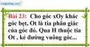 Bài 23 trang 125 Vở bài tập toán 7 tập 1