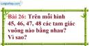 Bài 26 trang 127 Vở bài tập toán 7 tập 1