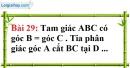Bài 29 trang 130 Vở bài tập toán 7 tập 1