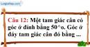 Phần câu hỏi bài 6 trang 131 Vở bài tập toán 7 tập 1