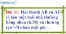 Bài 31 trang 132 Vở bài tập toán 7 tập 1