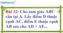 Bài 32 trang 132 Vở bài tập toán 7 tập 1