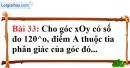 Bài 33 trang 133 Vở bài tập toán 7 tập 1